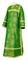 Clergy sticharion - Vilno rayon brocade S3 (green-gold), Standard cross design