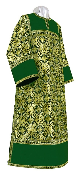 Clergy stikharion - rayon brocade S3 (green-gold)