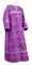 Clergy sticharion - Soloun rayon brocade S3 (violet-silver), Standard design