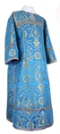 Clergy stikharion - rayon brocade S4 (blue-gold)