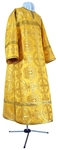 Clergy stikharion - rayon brocade S4 (yellow-gold)