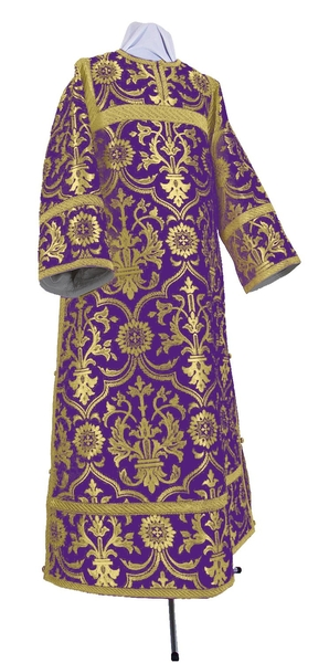 Clergy stikharion - rayon brocade S4 (violet-gold)