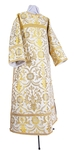 Clergy stikharion - rayon brocade S4 (white-gold)