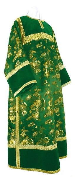 Clergy stikharion - rayon Chinese brocade (green-gold)