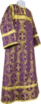 Altar server stikharion - metallic brocade B (violet-gold)
