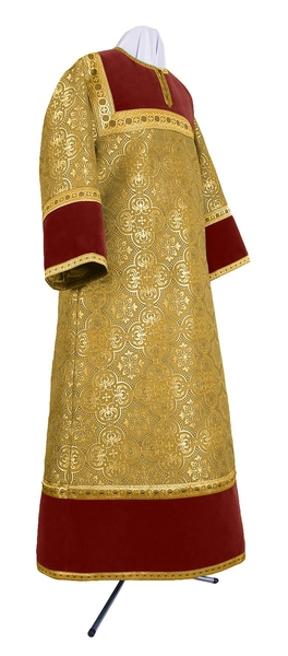 Altar server stikharion - metallic brocade BG1 (yellow-gold)