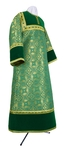 Altar server stikharion - metallic brocade BG1 (green-gold)