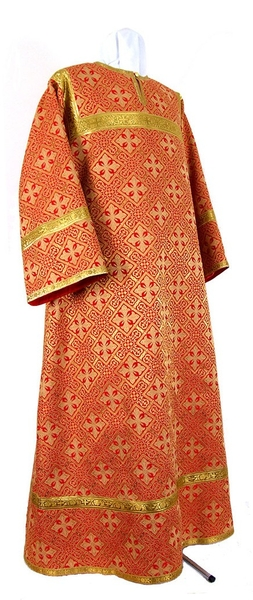 Altar server stikharion - metallic brocade BG1 (red-gold)