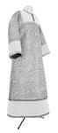 Altar server stikharion - metallic brocade BG1 (white-silver)