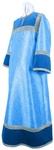 Altar server stikharion - metallic brocade BG4 (blue-silver)