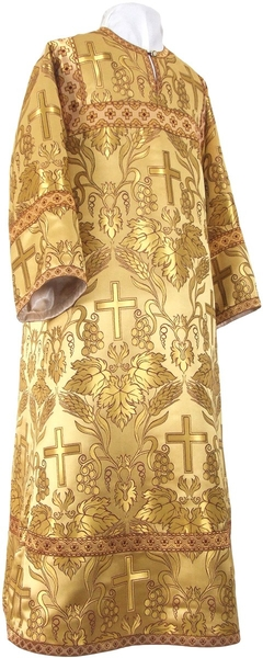 Altar server stikharion - metallic brocade BG4 (yellow-gold)