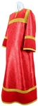 Altar server stikharion - metallic brocade BG5 (red-gold)