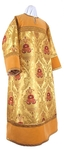 Altar server stikharion - metallic brocade BG6 (yellow-claret-gold)