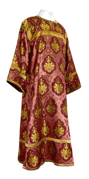 Altar server stikharion - rayon brocade S2 (claret-gold)