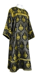 Altar server stikharion - rayon brocade S2 (black-gold)
