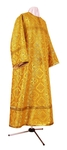 Altar server stikharion - rayon brocade S2 (yellow-claret-gold)