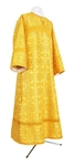 Altar server stikharion - rayon brocade S2 (yellow-gold)