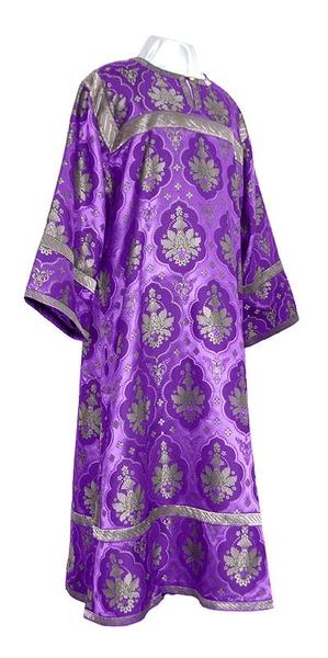 Altar server stikharion - rayon brocade S2 (violet-silver)