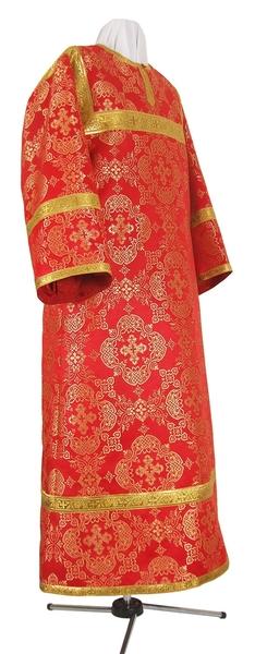 Altar server stikharion - rayon brocade S2 (red-gold)