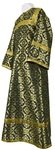 Altar server stikharion - rayon brocade S3 (black-gold)