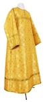 Altar server stikharion - rayon brocade S3 (yellow-gold)