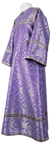 Altar server stikharion - rayon brocade S3 (violet-silver)