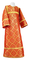 Altar server sticharion - Old-Greek rayon brocade S3 (red-gold), Standard design