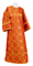 Altar server sticharion - Kazan rayon brocade S3 (red-gold), Standard design