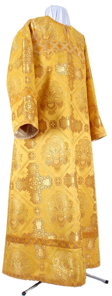 Altar server stikharion - rayon brocade S4 (yellow-gold)