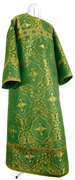 Altar server stikharion - rayon brocade S4 (green-gold)