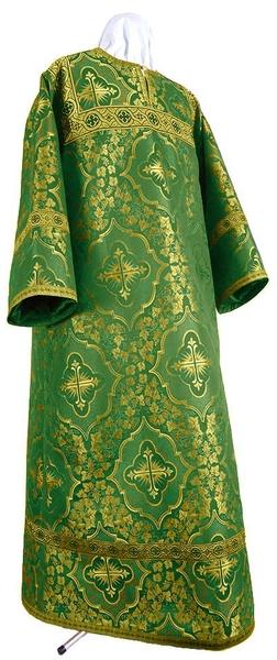 Altar server stikharion - rayon brocade S4 (green-gold)