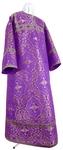 Altar server stikharion - rayon brocade S4 (violet-silver)
