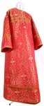 Altar server stikharion - rayon brocade S4 (red-gold)