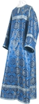 Child stikharion (alb) - metallic brocade B (blue-silver)