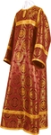 Child stikharion (alb) - metallic brocade B (claret-gold)