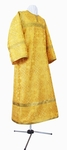 Child stikharion (alb) - metallic brocade B (yellow-gold)