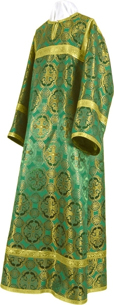Child stikharion (alb) - metallic brocade B (green-gold)