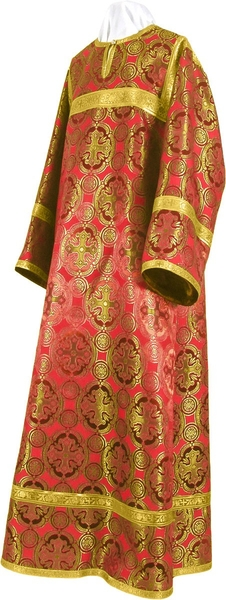 Child stikharion (alb) - metallic brocade B (red-gold)