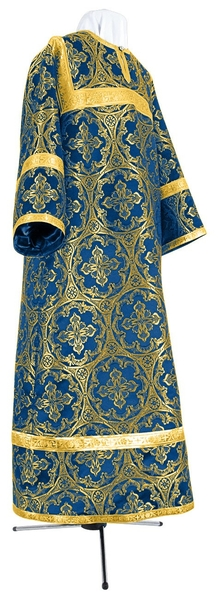 Child stikharion (alb) - metallic brocade BG1 (blue-gold)