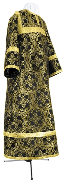 Child stikharion (alb) - metallic brocade BG1 (black-gold)