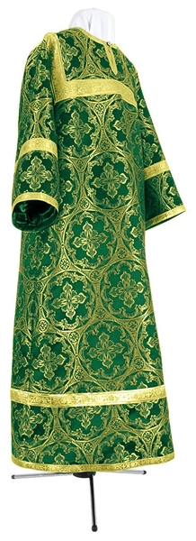 Child stikharion (alb) - metallic brocade BG1 (green-gold)