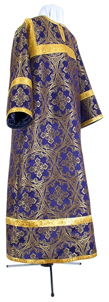 Child stikharion (alb) - metallic brocade BG1 (violet-gold)