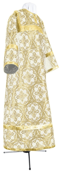 Child stikharion (alb) - metallic brocade BG1 (white-gold)
