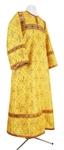 Child stikharion (alb) - metallic brocade BG2 (yellow-gold)