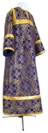 Child stikharion (alb) - metallic brocade BG2 (violet-gold)