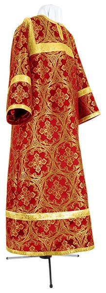 Child stikharion (alb) - metallic brocade BG2 (red-gold)