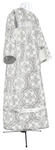 Child stikharion (alb) - metallic brocade BG2 (white-silver)