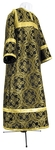 Child stikharion (alb) - metallic brocade BG3 (black-gold)