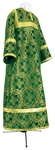 Child stikharion (alb) - metallic brocade BG3 (green-gold)