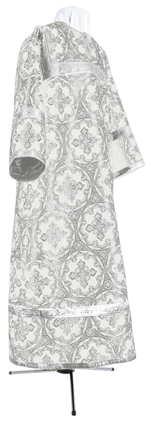 Child stikharion (alb) - metallic brocade BG3 (white-silver)
